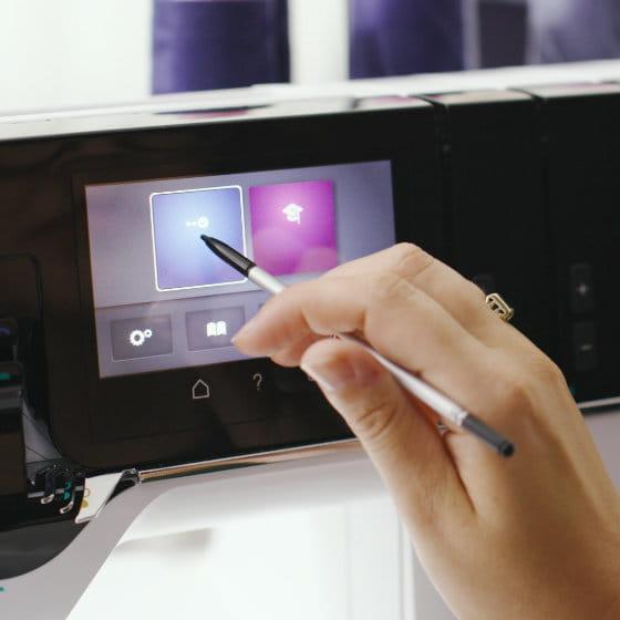 Intuitive Bedienung per Touchscreen
